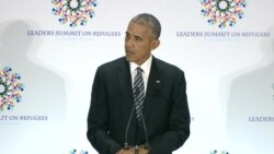 Obama Urges More Aid for Global Refugees