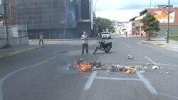 VOA recorre Caracas durante paro cívico
