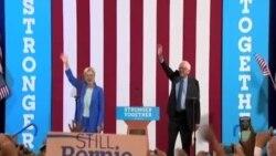 Sanders rəsmən Klintonu dəstəklədi