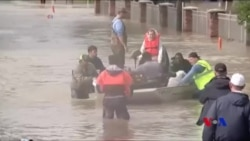 哈維緩慢撤離德州 洪水威脅不減