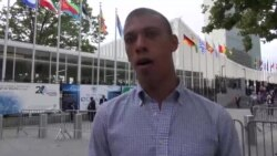 Jonathan Pedeneault, chercheur pour Amnesty International