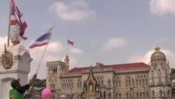 泰國抗議者包圍政府大樓