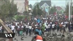 Wanafunzi waandamaa Goma wakipinga kifo cha mwenzao