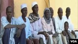Former Boko Haram fighters are seen in Meri, Cameroon, April 9, 2021. (Moki Edwin Kindzeka/VOA)