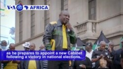 VOA60 Africa - South Africa Chief Vows to Purge ANC of 'Deviant Tendencies'