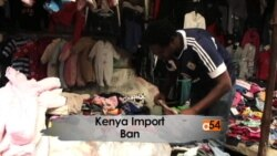 Kenya Used Clothes Import Ban