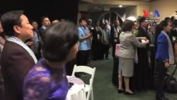 Khmers in Long Beach Marked 62th Independence Day​