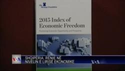 Shqipëria, rënie në nivelin e lirisë ekonomike