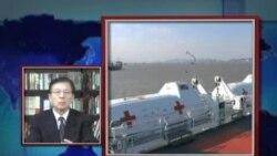 VOA连线: 中国在东海举行岛屿维权军演