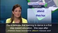 Anh ngữ đặc biệt: Street Kids Dance Education (VOA-Edu Rep)