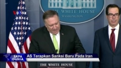 Sapa Dunia VOA: Sanksi Baru AS bagi Iran