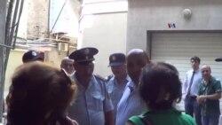 Reportyorların Azadlıq ve Təhlükəsizlik İnstitutunun ofisi mühasirədə