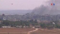 Ataques aéreos en Siria