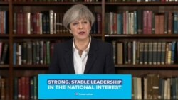 May: Election is 'Crucial Question of Leadership'
