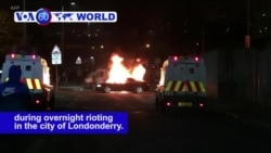 VOA60 World PM - Journalist Killed in Northern Ireland Rioting