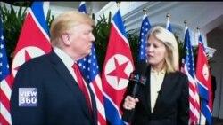 ٹرمپ کی وائس آف امریکہ سے خصوصی بات چیت