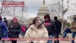 Tramp tarafdorlari Kongressga bostirib kirdi