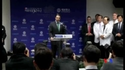 2015-03-10 美國之音視頻新聞: 美國駐韓大使李柏特出院