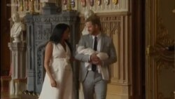 Britain's Royal Couple Introduces Newly Born Son to the World