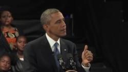 奧巴馬總統拜訪曼德拉家人