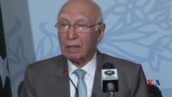 ڈرون حملے سے افغان امن عمل متاثر ہوا: سرتاج عزیز
