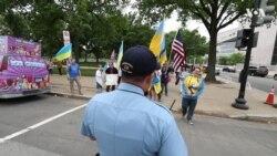 У Вашингтоні пройшов український марш за свободу. Відео