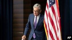 Le président de la Réserve fédérale américaine, Jerome Powell, à Washington, le 31 juillet 2019.