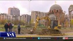 Gërmime në oborrin e UP-së, dyshime për varrezë masive