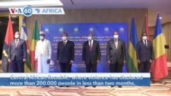VOA60 Afrikaa - Angola: African presidents try to to resolve the situation in the Central African Republic