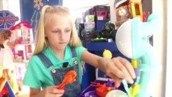 В Walmart поиграть в игрушки