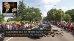 On the Street: Louisville Honors Muhammad Ali