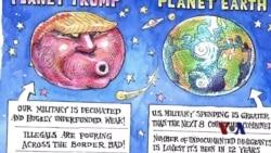 美国总统大选中的漫画元素