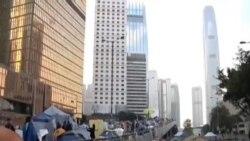香港當局將對剩餘抗議地點實行清場