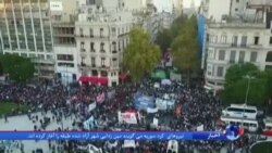 اعتراض آرژانتینیها به احتمال آزادی نقضکنندگان حقوق بشر از زندان