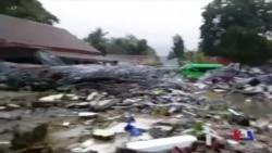 印尼遇到海嘯襲擊至少168人喪生 (粵語)