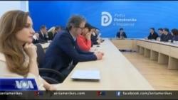 Shqipëri, Gara për kreun e Partisë Demokratike