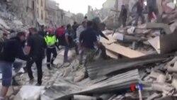 意大利中部發生里氏6.2級強震