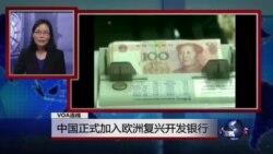 """VOA连线:欧洲议会对中国人权现状表示担忧;中国正式加入""""欧洲复兴开发银行"""""""