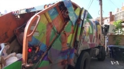 Recycling Trucks Become Works of Art in Washington
