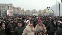 Ukrayna Maydan hadisələri qurbanlarının xatirəsini anıb