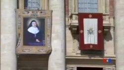 2015-05-17 美國之音視頻新聞:天主教會封四名修女為聖人