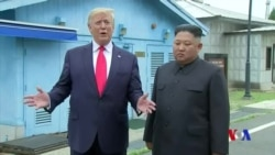 特朗普在南北韓邊界會見金正恩成為首名在任美國總統踏入北韓領土