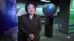 美国之音中文部主任龚晓夏向美国之音受众拜年