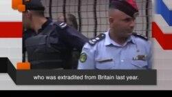 Học từ vựng qua bản tin ngắn: Extradited (VOA)