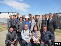 미 친우봉사회(AFSC) 관계자들이 중국에서 북한 농업 전문가들의 농업, 축산 연수 교육을 지원했다. (자료사진)