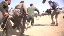 گزارش علی جوانمردی از خط مقدم جنگ با داعش با تصاویر اختصاصی