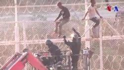 600 migrants franchissent la clôture frontalière de Ceuta (vidéo)