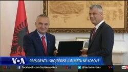 Presidenti i Shqipërisë, Ilir Meta viziton Kosovën