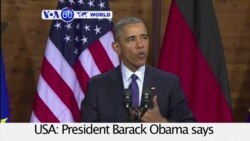 VOA60 World PM - Obama to Deploy More Special Forces Troops to Syria