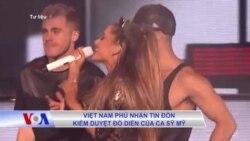 Việt Nam phủ nhận tin đồn kiểm duyệt đồ diễn của ca sỹ Mỹ